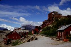 The Kennicot Copper Mine in Wrangell St. Ellias National Park, Alaska